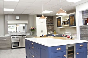 Contemporary Kitchens at Gormley's Kitchens, Northern Ireland