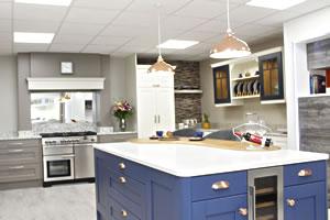 Contemporary Kitchens at Gormley's Kitchens, Northern Ireland